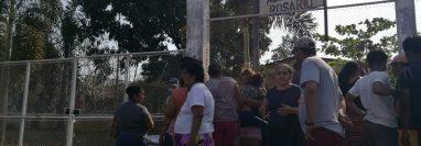 José Luis Méndez fue baleado en una iglesia evangélica de la aldea El Rosario, Champerico, Retalhuleu. (Foto Prensa Libre: Victoria Ruiz)