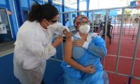 Con la llegada de las vacunas del mecanismo Covax, Guatemala puede empezar con la segunda fase de la vacunación. (Foto Prensa Libre: Hemeroteca PL)