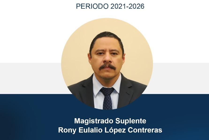 Usac elige a Rony López Contreras magistrado suplente de la CC