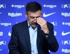Josep Maria Bartomeu, expresidente del Barcelona, habló del informe financiero presentado hace unas semanas. (Foto Prensa Libre: AFP)