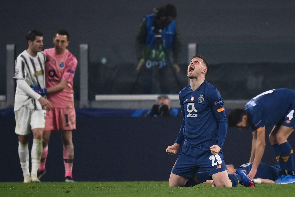 Champions League: La Juve y Cristiano Ronaldo se quedan otra vez en octavos. El Porto, con diez hombres, avanza
