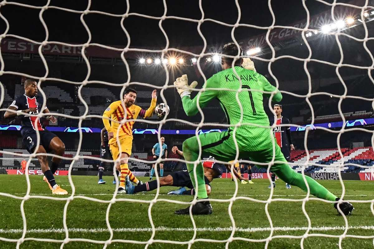 Champions League: Leo Messi falla ante el tico Keylor Navas y el PSG se mete en cuartos de final de la Champions