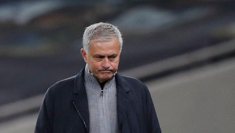 José Mourinho, entrenador del Tottenham. (Foto Prensa Libre: AFP)
