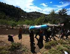 Familiares despiden a migrantes masacrados en Tamaulipas, México