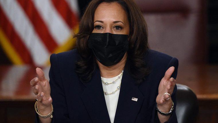 Kamala Harris, vicepresidenta de Estados Unidos. (Foto: AFP)