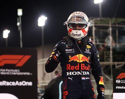 Verstappen logra la primera pole de la temporada de F1 en Baréin