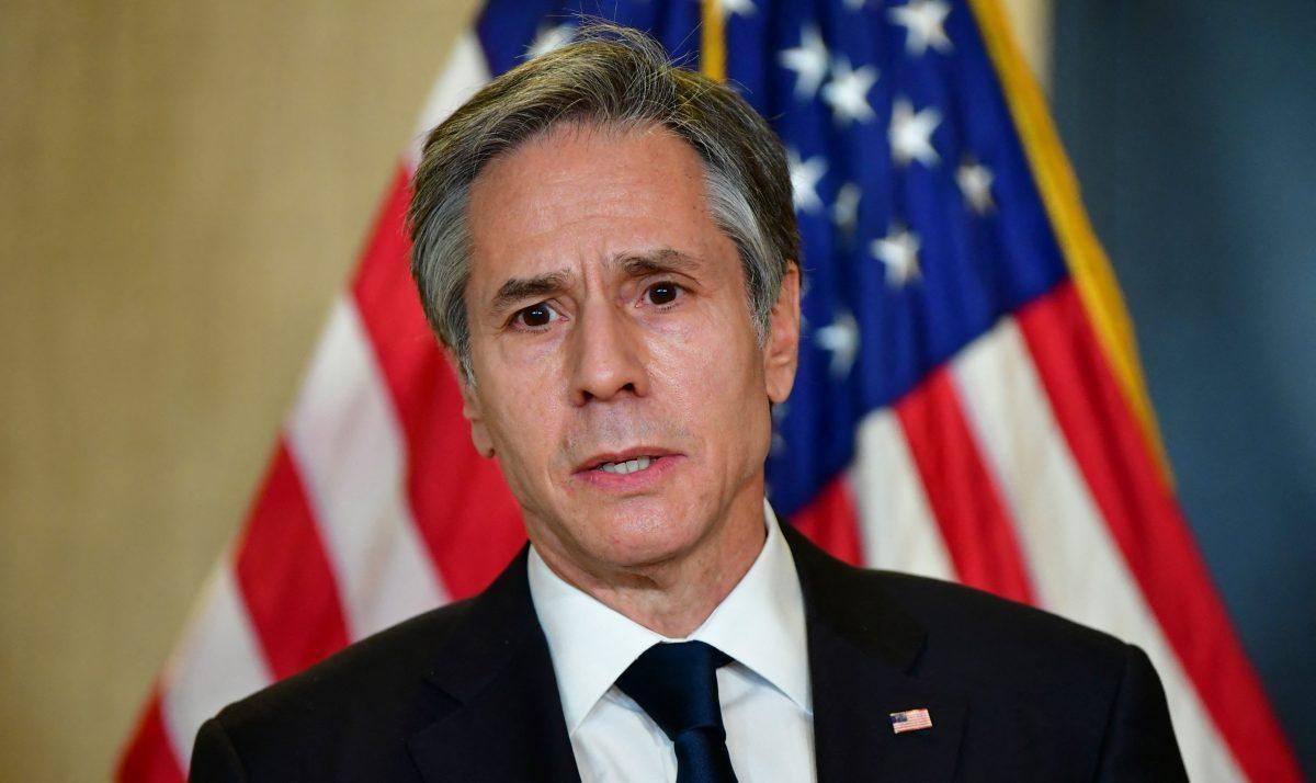 """""""La libertad de prensa y el libre flujo de información requieren de libertad en internet"""", secretario de Estado de EE. UU., Antony J. Blinken"""