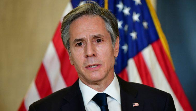 Foto de archivo de del secretario de Estado de EE. UU., Antony Blinken. (Foto Prensa Libre: Hemeroteca)