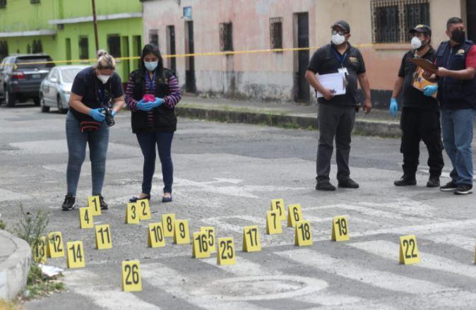Quiénes eran las personas ultimadas en la zona 6 donde quedaron unos 28 casquillos
