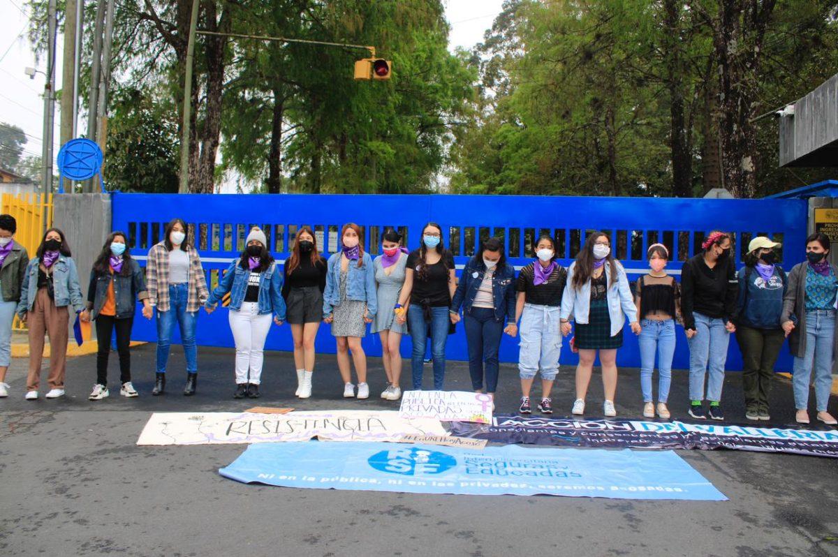 Estudiantes universitarias se unen para denunciar casos de acoso y pedir acciones a autoridades