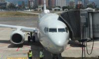 Del 17 de marzo al 17 de septiembre del 2020 estuvo cerrado el Aeropuerto La Aurora para vuelos comerciales de pasajeros. Solo operaba de carga o los denominados humanitarios. (Foto, Prensa Libre: Hemeroteca PL).