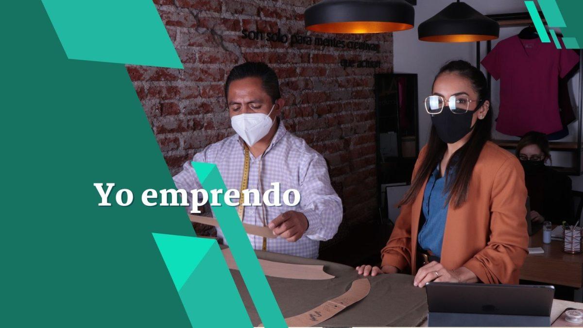 Ortodoncista guatemalteca destaca en México con sus uniformes médicos de alta costura