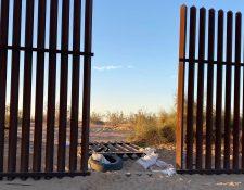 Auto donde murieron 13 personas, entre ellas dos guatemaltecas, entró a EE. UU. por agujero en valla fronteriza