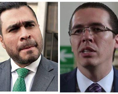 Los señalamientos que se lanzan Neto Bran y Felipe Alejos por la salida del alcalde de Mixco del partido Todos