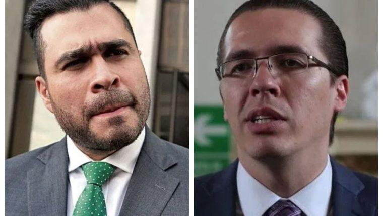 El alcalde Neto Bran y el diputado Felipe Alejos cruzan señalamientos. (Fotos: Hemeroteca PL)