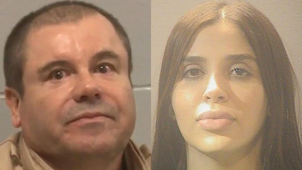 """De una vida de lujos al encierro: cómo pasan Emma Coronel y el """"Chapo"""" Guzmán sus días en prisión"""