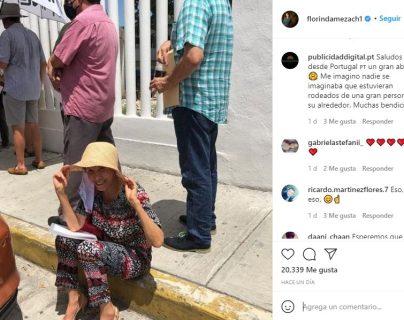 """Florinda Meza, la viuda de """"Chespirito"""", presume foto mientras espera ser vacunada contra el coronavirus"""