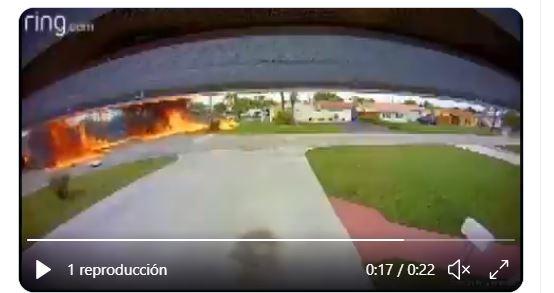 Fatal accidente de avioneta en Florida que quedó registrado en un video también cobra la vida de un niño