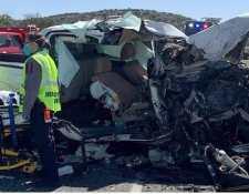 Ocho migrantes mueren en accidente de tránsito en una carretera de Texas y esto dice la Cancillería guatemalteca