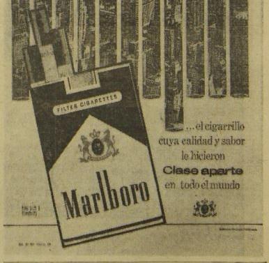 Abril 1975: Cajas de cigarrillos advierten, por primera vez, sobre el daño a la salud que causa este producto