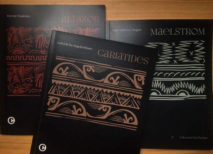 """Catafixia rinde tributo a la poesía con la colección """"No-Tiempo"""""""