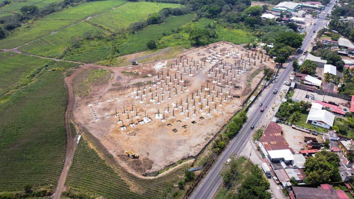 Así es el centro comercial de US$15 millones que se construye en Santa Lucía Cotzumalguapa