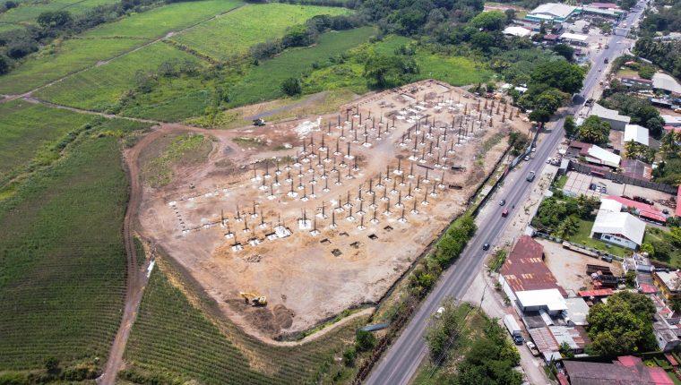 El centro comercial Santalú estará ubicado en Santa Lucía Cotzumalguapa y contará con al menos 500 espacios de parqueo. (Foto Prensa Libre: Cortesía Íntegro)
