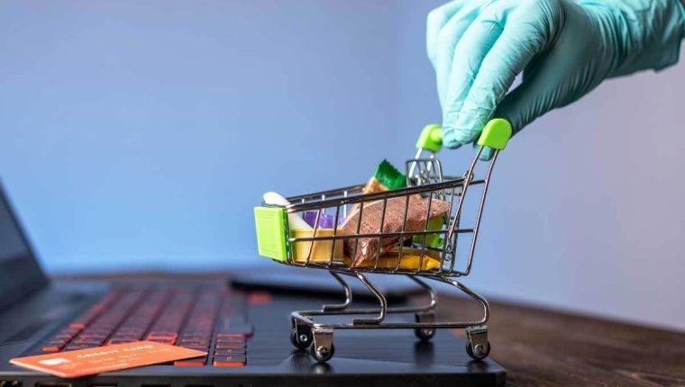 Los modelos de compra y venta y los patrones de consumo cambiaron  en el 2020 durante el primer año de la pandemia del covid-19. (Foto, Prensa Libre: Hemeroteca PL).