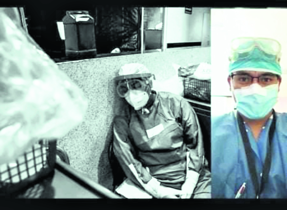 La pandemia en la vida de un médico