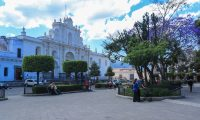 Antigua Guatemala atraerá turismo para Semana Santa 2021. (Foto Prensa Libre: Juan Diego González).