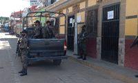 El Ejército de Guatemala participa en acciones de prevención. (Foto Prensa Libre: Ejército de Guatemala)