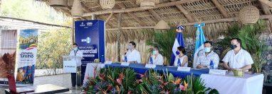 Las Cámaras de Turismo de Guatemala y de El Salvador programaron ruedas de negocios con 65 empresarios para reactivar el sector.  (Foto, Prensa Libre: Camtur).