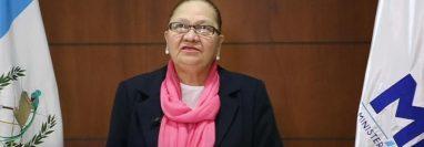La fiscal general manifestó su preocupación por el impacto en la región de la corrupción y el crimen organizado. (Foto Prensa Libre: MP)