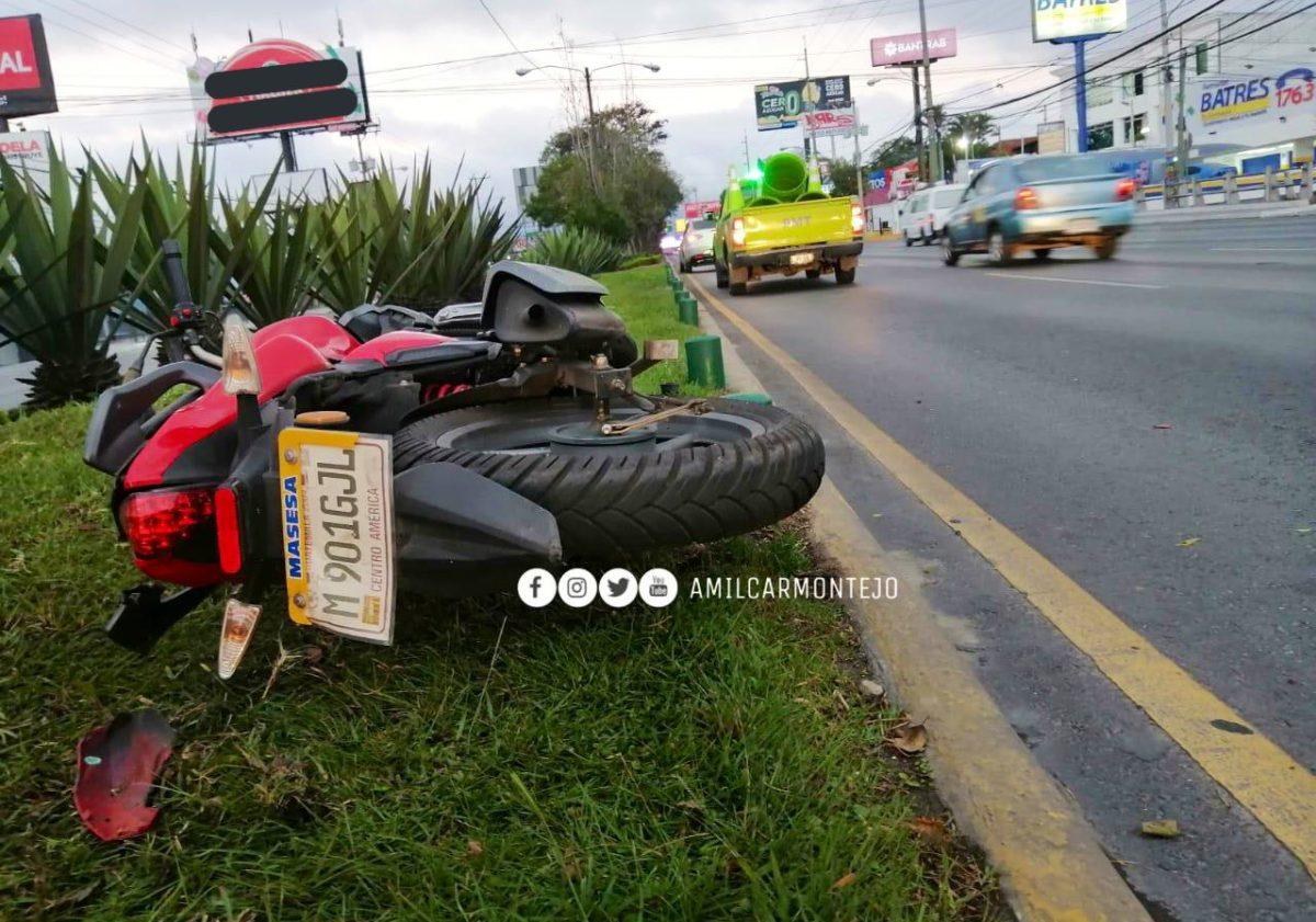 Autoridades de tránsito reportan un motorista muerto y otros percances viales