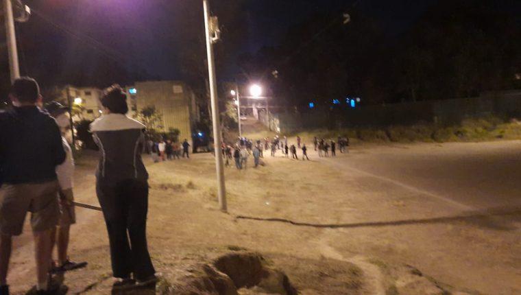 Vecinos de Nimajuyú temen perder áreas verdes a manos de invasores. (Foto: Cortesía)