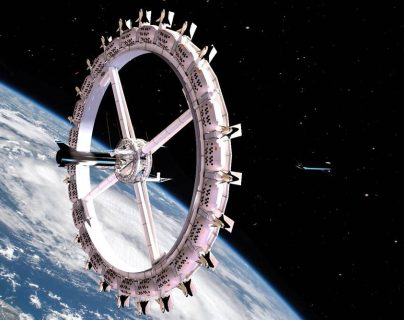 Haga ya sus reservaciones con vista a la Tierra: así será el primer hotel espacial