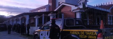 Operativos del 11 de marzo de 2021, cuando fueron detenidos los supuestos integrantes de la banda los Ipala. (Foto: Hemeroteca PL)