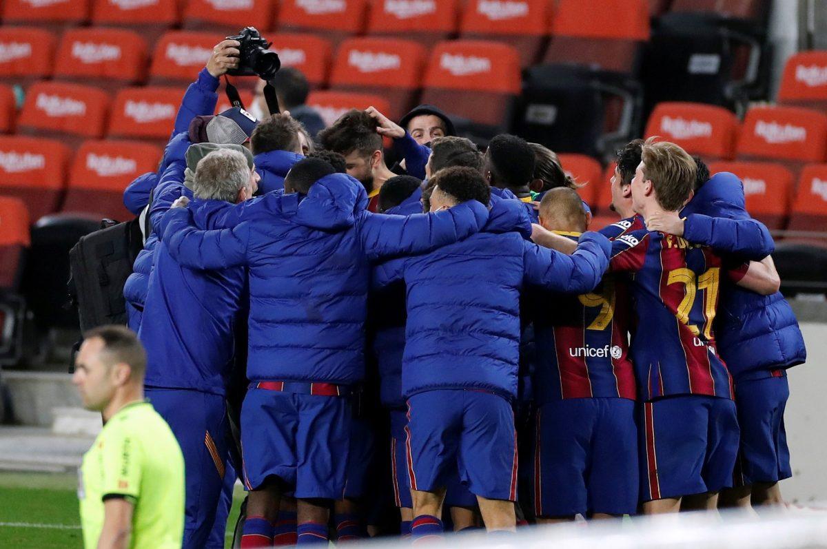 Remontada épica del Barcelona frente al Sevilla para clasificar a la final de la Copa del Rey