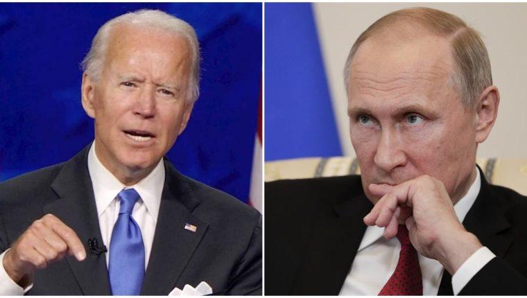 """Interrogado por un periodista que le pregunta si piensa que el presidente ruso """"es un asesino"""", Biden responde """"Sí, lo pienso"""". (Foto Prensa Libre: EFE)"""