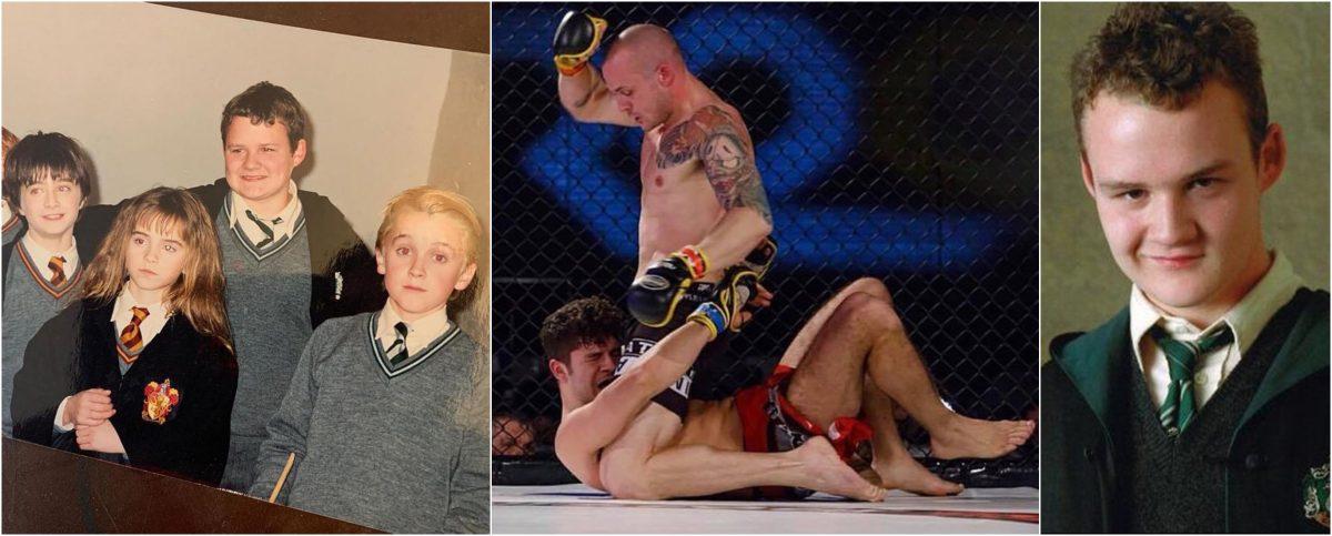 La sorprendente transformación de Joshua Herdman: de actuar en Harry Potter a las peleas de Artes Marciales Mixtas