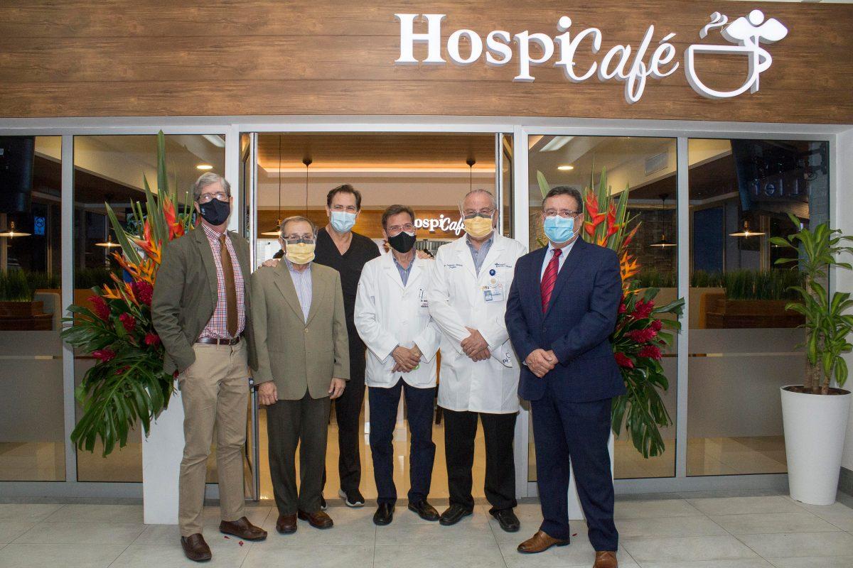 Hospital Herrera Llerandi inaugura una nueva cafetería