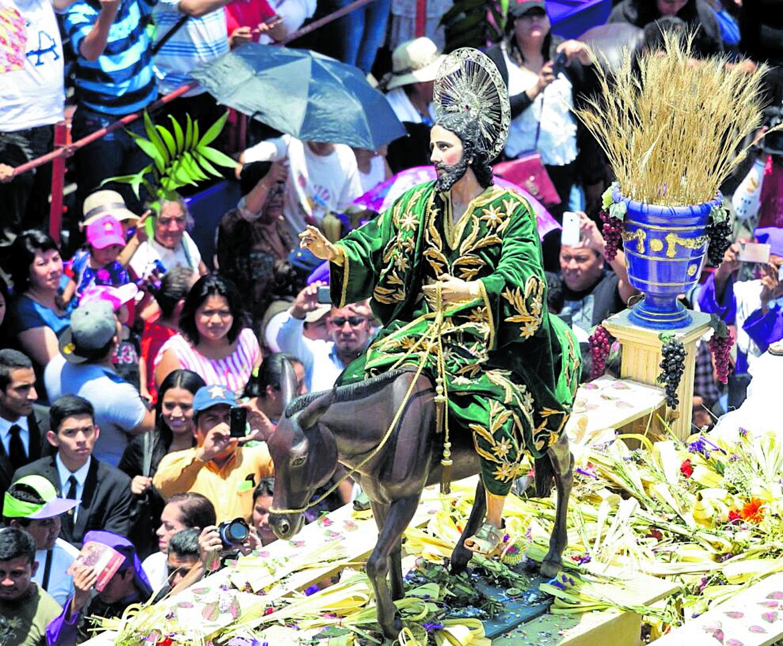 Jesús de las Palmas, más que una tradición del Domingo de Ramos