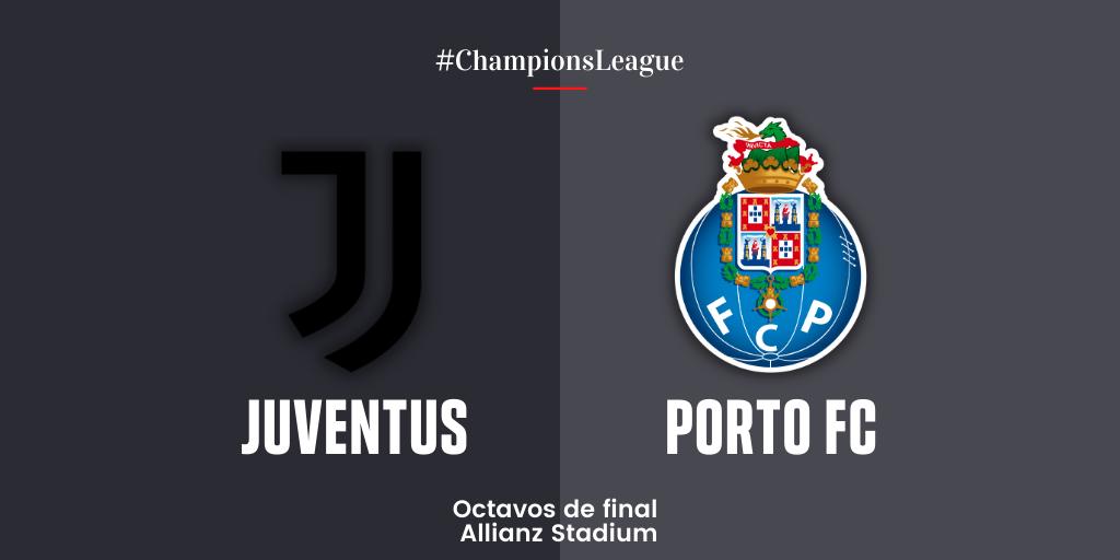 En Directo: Juventus vs Porto FC