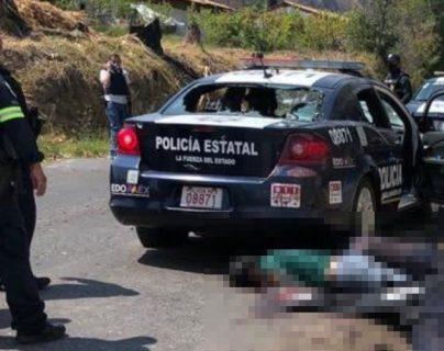 Sicarios del crimen organizado emboscan a policías en el centro de México y ultiman a 13