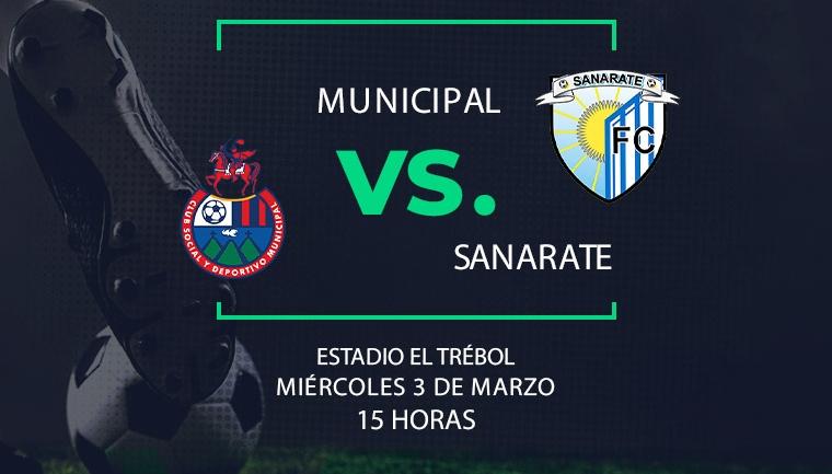 EN DIRECTO | Municipal vs Sanarate