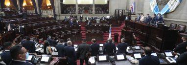 El Congreso de la República incumplió con una de sus tareas del segundo periodo de sesiones ordinarias, iniciar en tiempo con la interpelación del Ministro de Energía y Minas. Fotografía: Prensa Libre.