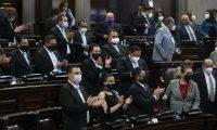 Congreso de la Repœblica de Guatemala elige magistrados a la corte de constitucionalidad a Dina Ochoa y Luis Rosales Ser‡ el segundo periodo en el que Ochoa sea magistrada titular puesto que en 2015 fue nombrada por la Presidencia de la Repœblica.  Fotografia. Erick Avila:       02/03/2021