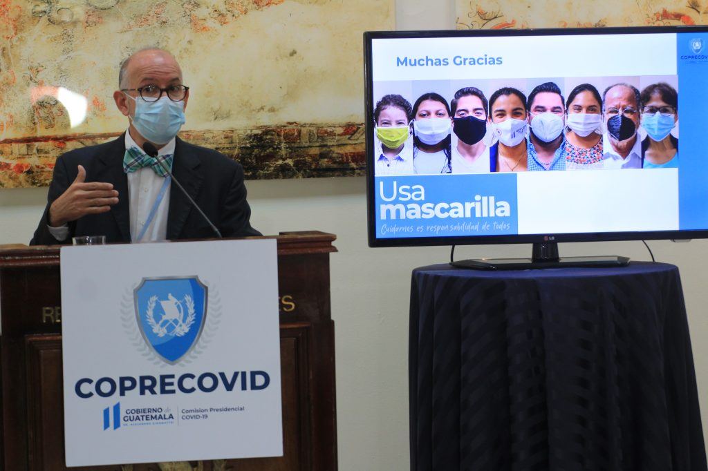 El médico Edwin Asturias dirigió la Coprecovid hasta diciembre de 2020.