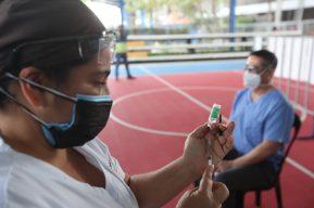 Salud desconoce cuántas personas han sido vacunadas contra el covid-19 en fase 1