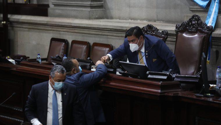 El Congreso está a seis semanas de terminar su período de sesiones ordinarias sin avanzar en la producción legislativa. (Foto Prensa Libre: Hemeroteca PL)